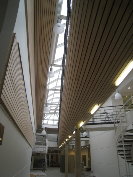 centre culturel, travux, aménagement, agrandissement