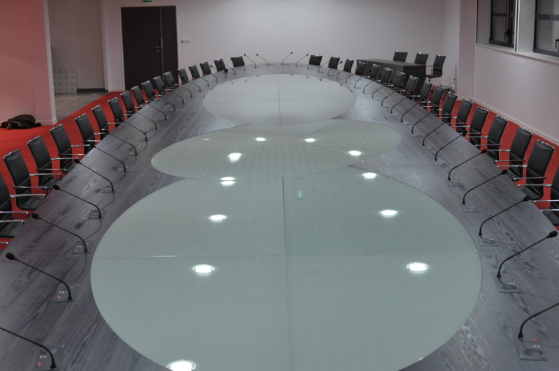 Table de conférence, La bigottière, St germain le guillaume, La baconière, Andouillé